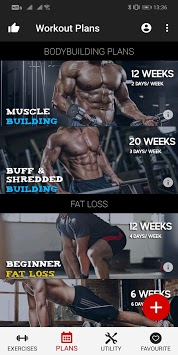 Workout Master - Pro Gym Trainer and Fitness Plan APK screenshot 1
