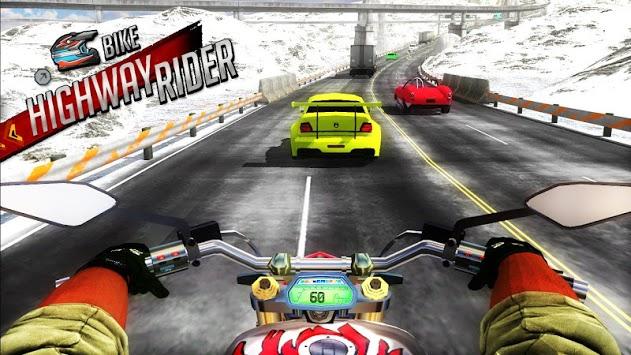 Bike Highway Rider APK screenshot 1