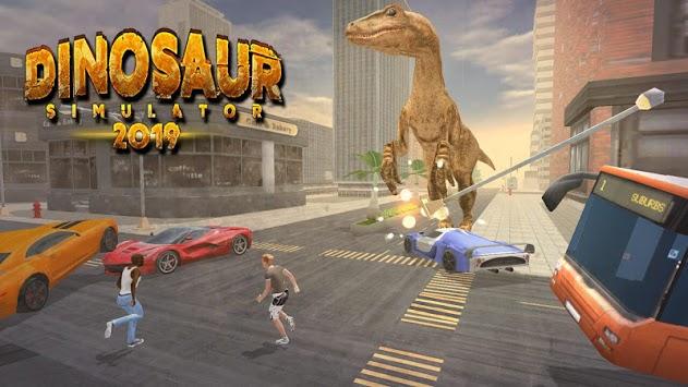 Dinosaur Games Simulator 2019 APK screenshot 1