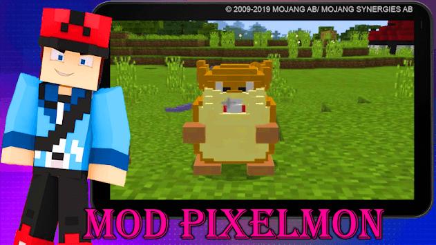Mod Pixelmon 2019 APK screenshot 1