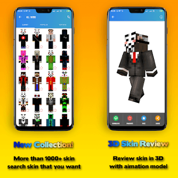 Hacker Skins APK screenshot 1