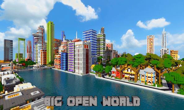 MiniCraft 2: 3D Adventure Crafting Games APK screenshot 1