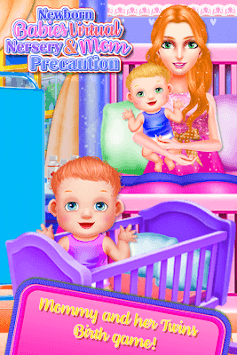 Minors & Newborn Virtual Nursery Mom Precautions APK screenshot 1