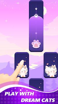 Piano Dream Cat: Music Tiles Game 2019 APK screenshot 1