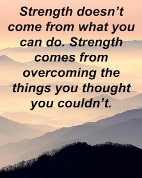 Courage & Strength Quotes APK screenshot 1