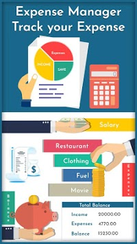 Expense Manager - Track your Expense APK screenshot 1