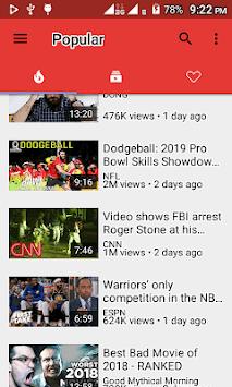 SmartPlay - YouTube Video Player APK screenshot 1