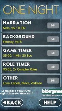One Night Ultimate Werewolf APK screenshot 1