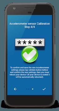 Accelerometer Calibrator & Fix APK screenshot 1