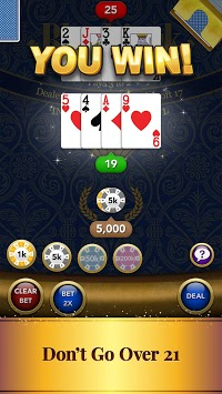 Blackjack Card Game APK screenshot 1