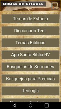Biblia de Estudios Bíblicos APK screenshot 1
