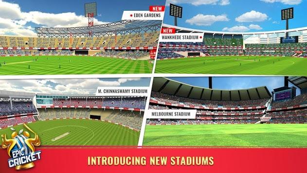 Epic Cricket - Best Cricket Simulator 3D Game APK screenshot 1