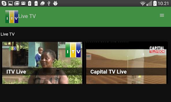 ITV Tanzania App APK screenshot 1