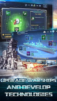 Fleet Command II: Battleships & Naval Blitz APK screenshot 1