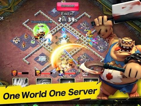 Clash of Zombies 3: War of Summoners APK screenshot 1