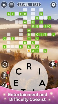 Happy Word - A crossword puzzle APK screenshot 1