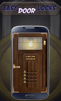 Stylish Door Lock screen: Secure Screen With Lock APK screenshot 1