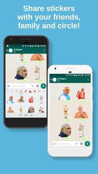 Politician Stickers for WhatsApp, WAStickerApps APK screenshot 1