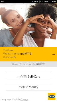 MyMTN APK screenshot 1