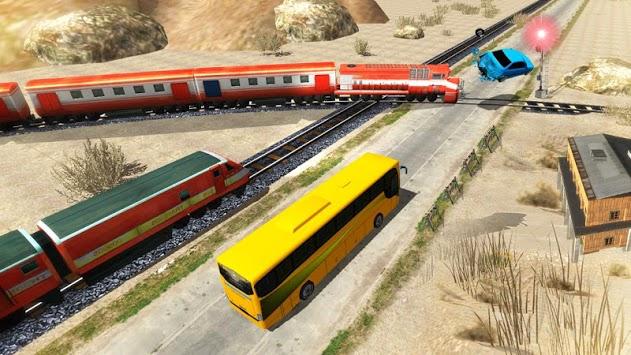 Train Vs Bus Racing APK screenshot 1