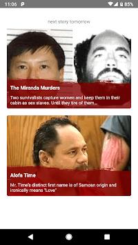 Murder Minute - True Crime APK screenshot 1