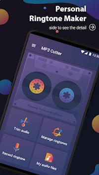 Music cutter ringtone maker - MP3 cutter editor APK screenshot 1