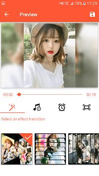 Video Maker from Photos, Music & video editor APK screenshot 1