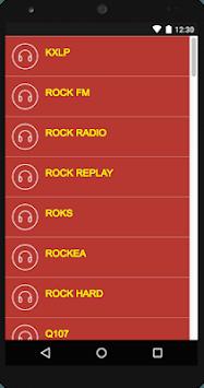 Rock Radio - Free Music Player APK screenshot 1