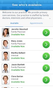 myVisitNow - MVP Health Care APK screenshot 1