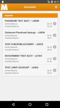 Mechanics Bank - Mobile Banking APK screenshot 1
