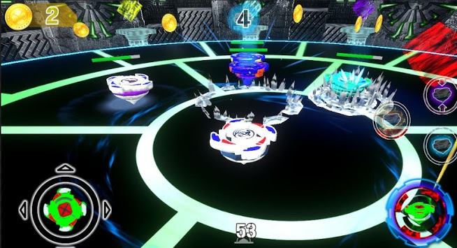 Spinner Chaos Battle APK screenshot 1