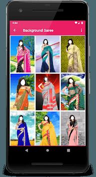 Women Bridal Saree Frame APK screenshot 1