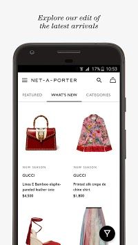 NET-A-PORTER APK screenshot 1