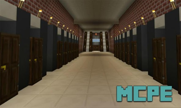 School Map for MCPE APK screenshot 1