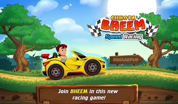 Chhota Bheem Speed Racing : Best Kids Racing Game APK screenshot 1