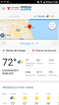 Telemundo Chicago APK screenshot 1