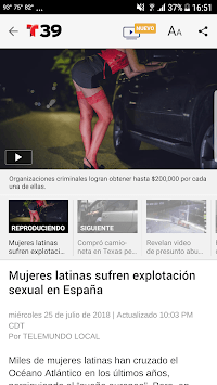 Telemundo 39 APK screenshot 1