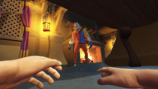 Scary Neighbor Survival House Escape APK screenshot 1