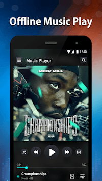 Music Player - EQ, Bass Booster & Visualizer APK screenshot 1