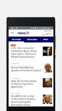News24: Breaking News. First. APK screenshot 1