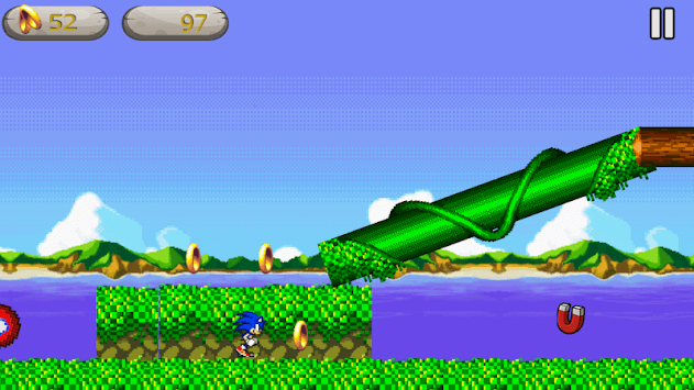 Classic Sonik: Advance APK screenshot 1