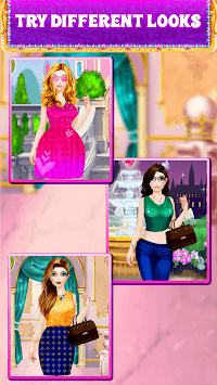 Fashion Salon:Princess, Top Model, Color by Number APK screenshot 1