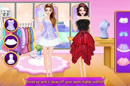 Shopping Mall Rich Girl Dressup - Color by Number APK screenshot 1