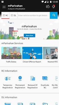 mParivahan APK screenshot 1