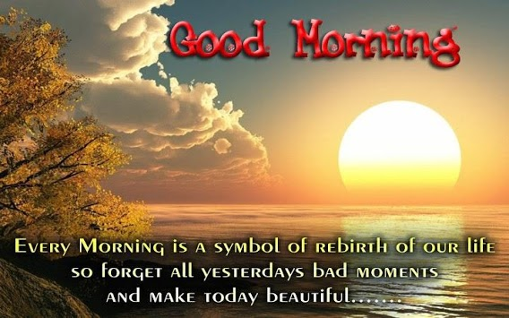 Good morning and night messages with images APK screenshot 1