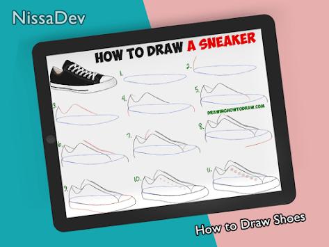 How to Draw Shoes APK screenshot 1
