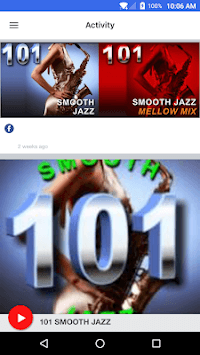 101 SMOOTH JAZZ APK screenshot 1