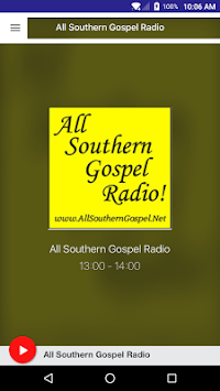 All Southern Gospel Radio APK screenshot 1