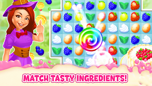 Bake a Cake Puzzles & Recipes APK screenshot 1