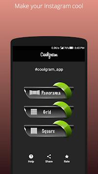 Coolgram - Instagram panorama, grid and square APK screenshot 1